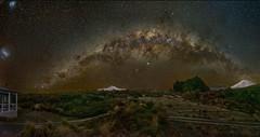 Milky way from Waihohonu Hut... (NavmanNZ) Tags: fujifilmgfx50r milkyway tongarironationalpark newzealand nightsky astrophotography gf234 ngauruhoe ruapehu