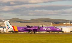 G-FLBC Dash 8, Edinburgh (wwshack) Tags: bombardier dhc8 dash8 edi egph edinburgh edinburghairport flybe scotland turnhouse gflbc