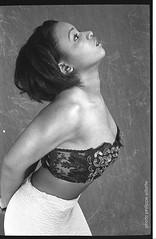 PORTRAIT ines  (4) (villatte.philippe) Tags: ines chanteuse creole guadeloupe antilles nb portrait africa black ebony