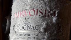 MM : It's six O'clock somewhere in the world...... (markwilkins64) Tags: label bottle junk macromondays dust mm cognac alcohol brandy hmm spirit alcoholic 40 france