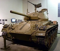 "M24 Chaffee Light Tank 1 • <a style=""font-size:0.8em;"" href=""http://www.flickr.com/photos/81723459@N04/48780705348/"" target=""_blank"">View on Flickr</a>"