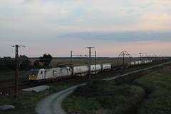 Teco al ocaso (MACD 3) Tags: ecr eurocargorail 186315 traxx bombardier train tren canon eos600d rbintermodal