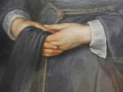 Van Dyck L'Infante isabelle Claire Eugénie (mains) (marellezap) Tags: lelouvre peinture mains musée