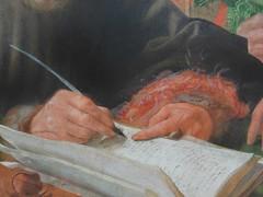 Les collecteurs d'impôts (marellezap) Tags: lelouvre peinture mains musée