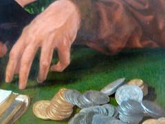 Les collecteurs d'impots (mains cupides) (marellezap) Tags: lelouvre peinture mains musée