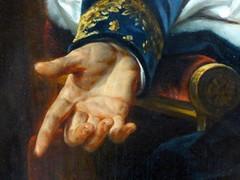 Baron A. J. Gros  Portrait de P. J. Orillard (marellezap) Tags: louvre musée mains peinture sculpture