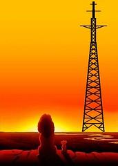 Tower and Lion (feldweg2008) Tags: sunset sendemast tower turm germany deutschland deutsche gittersteigen gittermast gittersteiger latticeclimbing latticeclimb latticecategory framework lion himmel sky extremgittersteigen
