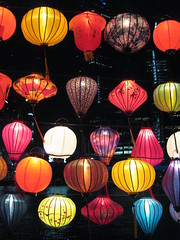 Chinese Lanterns by Night - Southbank Promenade, Melbourne (raaen99) Tags: blue red white color colour green lamp paper colorful pattern chinese fringe fabric lantern colourful chineselantern pink light brown floral yellow festival bronze navy magenta illumination southbank string lime lanternfestival tassel chineselanternfestival city river cityscape streetphotography australia melbourne victoria corniche yarra yarrariver melbournecbd riveryarra southbankpromenade artsprecinct southbankprecinct southbankcorniche building night skyscraper gold vermilion fff photogroup famousflickrfive flickrfamousfive