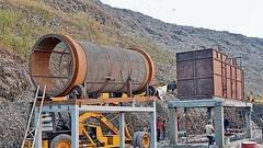 Waste Segregation Plant (Dozer In) Tags: zero waste management plant