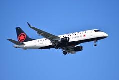 C-FEIQ ERJ175 Air Canada Express (corrydave) Tags: 17000083 erj erj175 embraer aircanada boston cfeiq