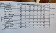 2019 Final Pro Scores (Putting Penguin) Tags: minigolf miniaturegolf putting puttingpenguin penguin puttputt canton connecticut matterhorn tournament crazygolf golf miniaturegolfday