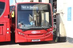 758 YX13AHF Metrobus (EHBusman1958) Tags: 758 yx13ahf metrobus