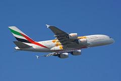 A6-EOU Heathrow 13-09-19 (IanL2) Tags: emirates airbus a380 a6eou airliners aircraft london heathrow airport