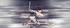 Diana2 (SilentRaindrop) Tags: lic lyndyinchains secondlife sl virtualworld avatar warriorprincess wonderwoman