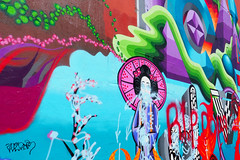 PDX Art Scene (Eclectic Jack) Tags: oregon portland wall mural art artistic grafitti weird keep help color colorful colour