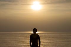 Kep - Cambodia (Ron van Zeeland) Tags: cambodia kep cambodja evening man men guy beach weather strand plage thaigulf sunset sea sun coast zee zon