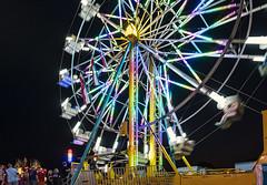 Faulkner County Fair 2019_2 (snolic...linda) Tags: fujixt2 501 arkansas fair faulknercountyfair ferriswheeltwilight sunset bluehour fairrides