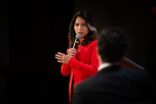 Tulsi Gabbard Youth Voice Presidential Forum, From FlickrPhotos