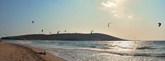 Prasonisi Beach (Philippe Haumesser (+ 8000 000 view)) Tags: mer sea eau water skysurf plage beach ciel sky vagues waves rhôdes grèce nikond7000 d7000 nikon reflex 2019 greece panorama panoramique