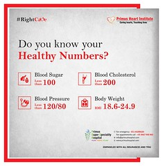 Do you know your Healthy Numbers? (prashant.ahauja19) Tags: heartattack heartattacksymptoms coronaryarterydisease cardiovasculardisease heartdisease