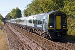 SWR - 158888 (Signal Box - Railway photography) Tags: outdoor railway mainline railroad uk dmu sprinter diesel train class158 whitchurch station hampshire swr southwesternrailway passenger