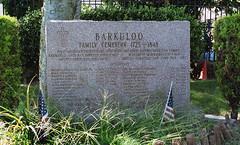 Barkuloo Family Cemetery (neilsonabeel) Tags: nikonfm2 nikon nikkor film analogue newyorkcity brooklyn cemetery gravestone