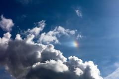 Sun spot rainbow (trevorgarner625) Tags: canoneos5dsr ef2470mmf28liiusm clouds rainbow sunspot sundog parhelion