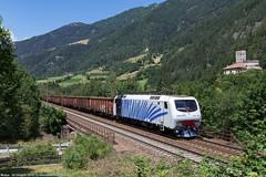 Un solito - Parte seconda (Damiano Piovanelli) Tags: treno treni ferrovie ferrovia brennero brenner brennerbahn bahn lokomotion ferroviedellostato fs eu43 eu43008