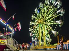 Faulkner County Fair 2019_1 (snolic...linda) Tags: fujixt2 501 arkansas fair faulknercountyfair ferriswheeltwilight sunset bluehour fairrides