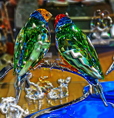 glasvögel_2013_1 (eduard43) Tags: tiere animals birds vögel glas glass 2013 eb spanien art glasart