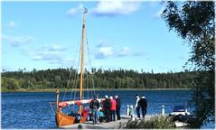 Flyget På Hägernäsviken - 100 Års Jubileum - Hägernäs Strand (lagergrenjan) Tags: flyget på hägernäsviken 100 års jubileum hägernäs strand plym vikingaskepp