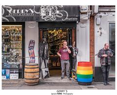 Gerry´s (Ignacio Ferre) Tags: london londres greatbritain granbretaña inglaterra england lumix panasonic bar soho