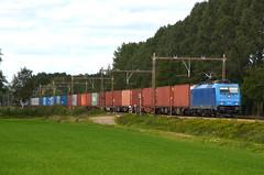 19.09.2019 (IV); Oostelijke treinspots, deel 2 (chriswesterduin) Tags: trein train zug goederentrein loc locomotief cargo güterzug traxx br186 bombardier lte