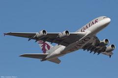 A7-APB (Baz Aviation Photo's) Tags: a7apb airbus a380861 qatar airways heathrow runway 09r qr10 doha doh qtr qr eglll lhr