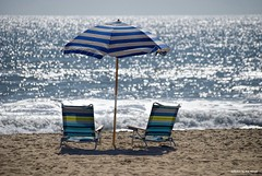 M.I.A.... (Joe Hengel) Tags: mia oceancity ocean outdoor beach chair md ocmd oceancitymd sand seaside seashore seascape sea waves water summer summertime umbrella chairs horizon maryland afternoon atlanticocean delmarva