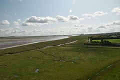 The Dee Estuary from the Top of the Tower (CoasterMadMatt) Tags: castellyfflint castellyfflint2019 flintcastle2019 castle castles ruins fort ruin fortress flint castell welshcastles fflint flintcastle castlesinwales landscape coast landscapes estuary coastal dee sir flintshire deeestuary coastallandscape siryfflint riverdeeestuary flintcastleruins wales cymru anglesey ynysmôn ynys isleofanglesey môn uk greatbritain europe unitedkingdom britain gb summer photography photos august photographs 2019 summer2019 august2019 coastermadmatt nikond3500 coastermadmattphotography