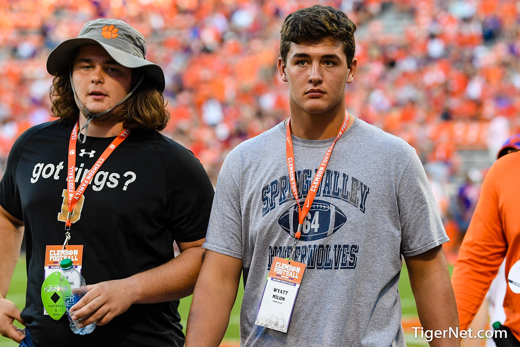 Clemson Photos: Ryan  Linthicum, wyattmilum, 2019, Recruiting