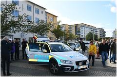 Flyget På Hägernäsviken - 100 Års Jubileum - Hägernäs Strand (lagergrenjan) Tags: flyget på hägernäsviken 100 års jubileum hägernäs strand polisbil