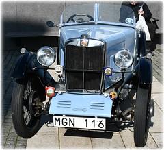 Flyget På Hägernäsviken - 100 Års Jubileum - Hägernäs Strand (lagergrenjan) Tags: flyget på hägernäsviken 100 års jubileum hägernäs strand mg 1929 gammal bil
