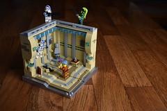 Knightfall - Dark Times (WG Productions) Tags: lego starwars star wars moc coruscant dark times jedi temple clone trooper 501st 501 knightfall order 66 lightsaber blaster operation