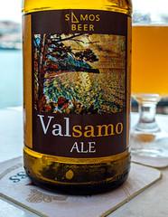 Close Up ( Bottle of Valsamo Ale Craft Beer from Samos - Greece) ( Ricoh GR III Compact) (1 of 1) (markdbaynham) Tags: greece greek hellas hellenic greekisland greekholiday greeceaegean greektown greekaegean samos kokkari kokkaritown aerial food greeklife greekfood traditionalfood nightscape nightlife lowlight highiso beer hellenicbeer greekbeer craftbeer bottle beerbottle street streetlife urban urbanlife metropolis seafront harbour townharbour harbourfront ricoh ricohgr ricohdigital ricohgriii ricohcompact grd3 grdiii compact highendcompact valsamo apsc fixedlens prime primelens wideprime 28mm 28mmf28 ricohprime