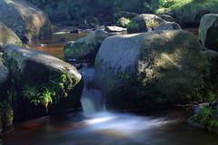 Burbage Brook (lee.twigger.art) Tags: burbage brook peak district river waterfall padley gorge rock landscape slow