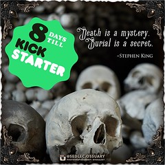 """""""Death is a mystery. Burial is a secret."""" - Stephen King . . Interested in learning more, or being an ambassador for our book project? 💀 Sign up on our mailing list through the link in the bio ☝️! 💀 ☩ sedlecossuary.mechanicalwhispers.c (Sedlec Ossuary Project) Tags: sedlecossuaryproject sedlec ossuary project sedlecossuary kostnice kutnahora kutna hora prague czechrepublic czech republic czechia churchofbones church bones skeleton skulls humanbones human mementomori memento mori creepy travel macabre death dark historical architecture historicpreservation historic preservation landmark explore unusual mechanicalwhispers mechanical whispers instagram ifttt"""