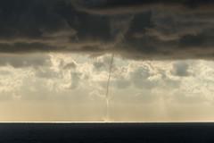 Trombe d'eau (Samuel Raison) Tags: corse capcorse nuages trombedeau pluie rain orage storm mer sea nikon nikond800 nikon2870200mmafsvr
