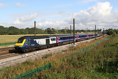 43140+43150 5L46 chaloners whin 23.09.2019 (Dan-Piercy) Tags: scotrail hst class43s 43140 43150 chalonerswhin askhambar 5l46 haymarket ely papworthsidings ecml