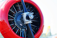 Ready (JY_Photos) Tags: jyphotos indiana usa nikon affinityphoto unitedstates airplane aircraft propeller engine red white columbus