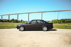 E34_völgyhíd (Dezone Works Photography) Tags: bmw e34 hungary m50b25 525i style5 automotive architecture canon 6d 35mm 2470 f28 f8