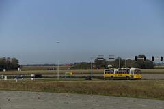 Museumsbus 1698 met op de achtergrond Solaris Urbino nSU18 CNG Texelhopper 9378 met kenteken  94-BLF-2 LIjn 28 in Den Hoorn Texel 21-09-2019 (marcelwijers) Tags: museumsbus 1698 met op de achtergrond solaris urbino nsu18 cng texelhopper 9378 kenteken 94blf2 lijn 28 den hoorn texel 21092019 bus eiland insel nederland niederlande netherlands pays bas se buses coach autobus gelenkbus geledebus