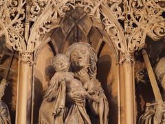 Maria mit Kind (1elf12) Tags: heilbronn kilianskirche church germany deutschland marienaltar hansseyfer madonna maria