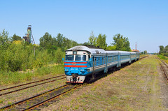 DR1A - 209, Sosnovka - Hirnyk (Соснівка - Гірник), Україна,19.8.2019 (Adam Švajcr) Tags: україна train mine coal soviet railway industry